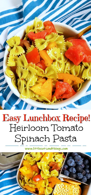 Easy Heirloom Tomato Bow-Tie Pasta