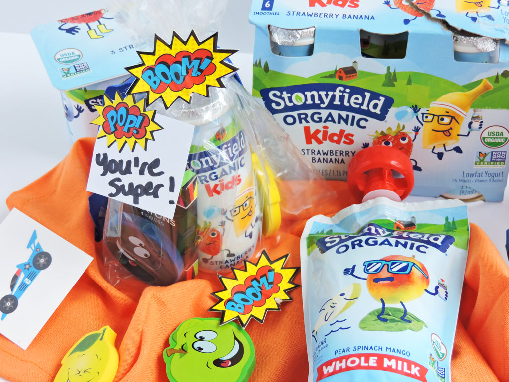 DIY Nutritious Superhero Snack Pack