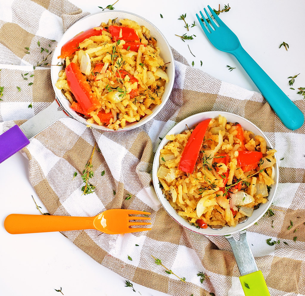 Easy Veggie Breakfast Hash