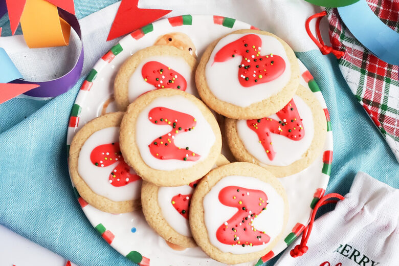 ricky zoom themed holiday, christmas cookies and DIY decorations for kids