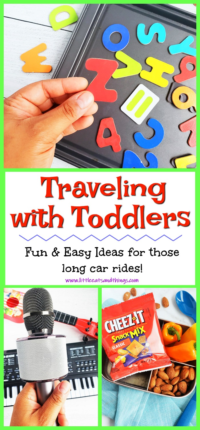 Easy Car Tips for Traveling with toddlers and kids