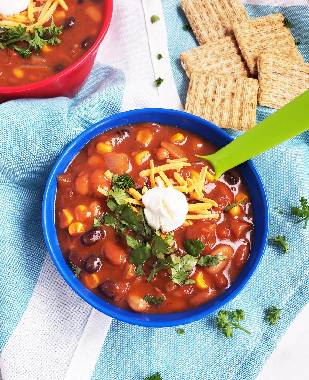 Simple Vegetarian Taco Soup