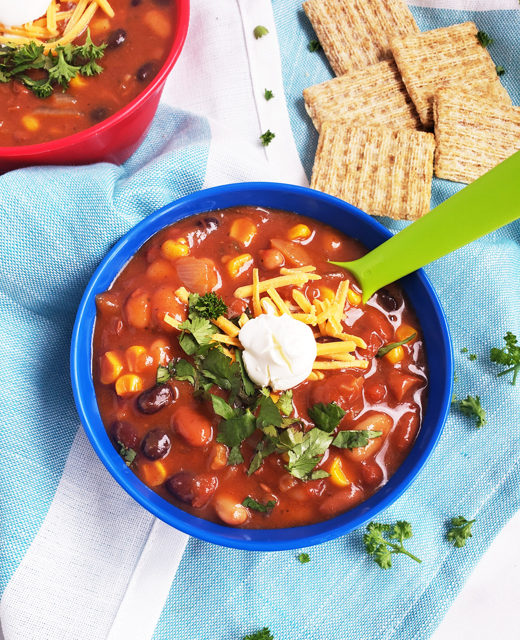 Simple Vegetarian Taco Soup