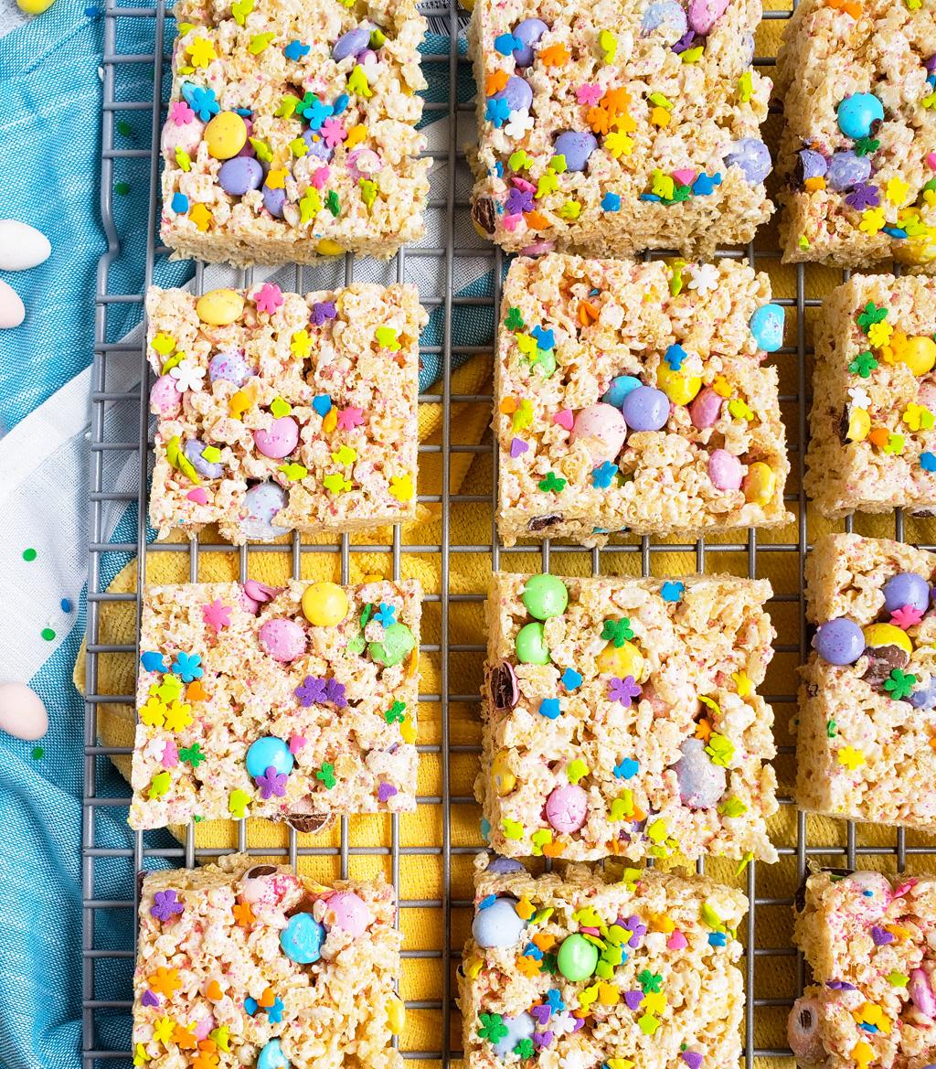 The Best Easter Rice Krispies Treats