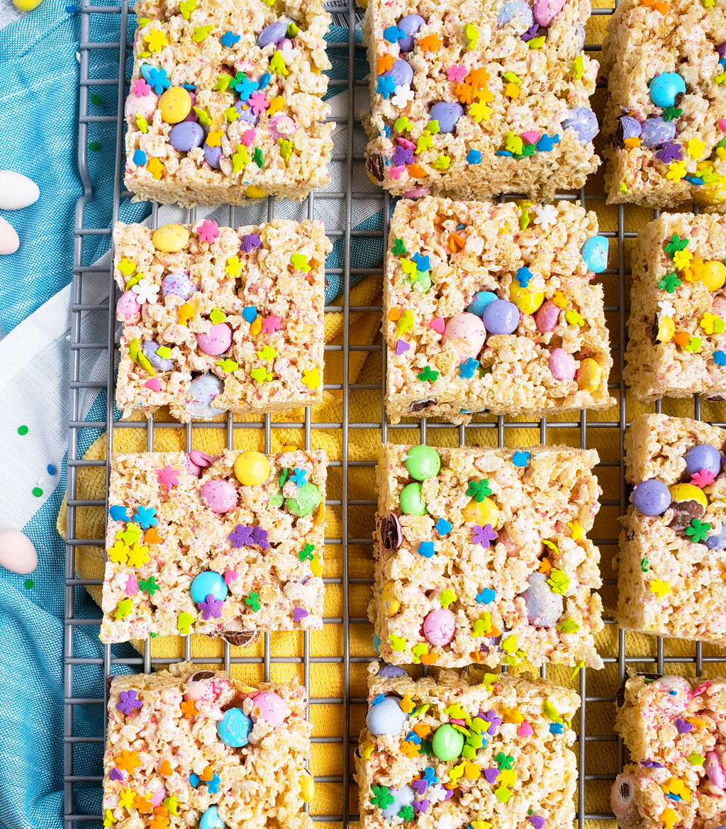 The Best Easter Rice Krispies Treats