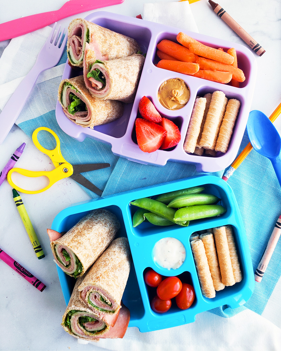 Easy Healthy Lunch Ideas for Kids