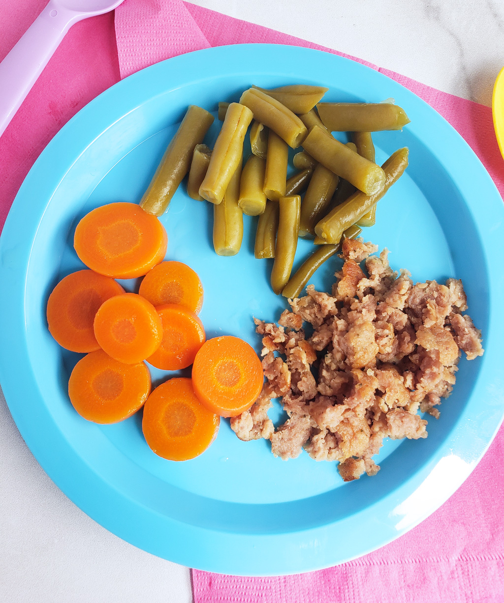 Beef as Baby's First Food? Why Not?! This post is a collaboration with Beef. It's What's for Dinner., on behalf of the Beef Checkoff.