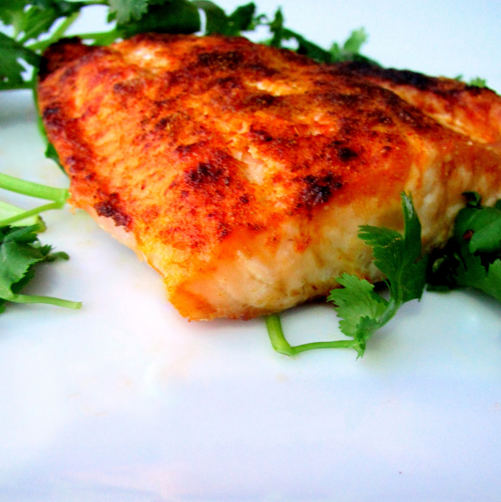 Blackened WILD Atlantic Salmon