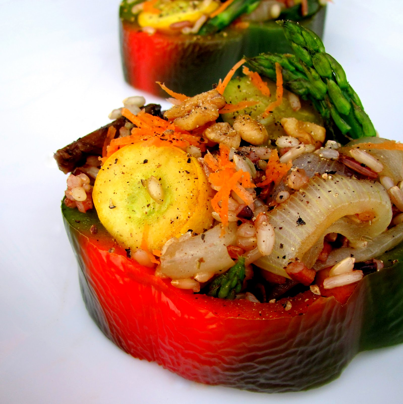 Brown Rice Jubilee & GRILLED Produce Medley