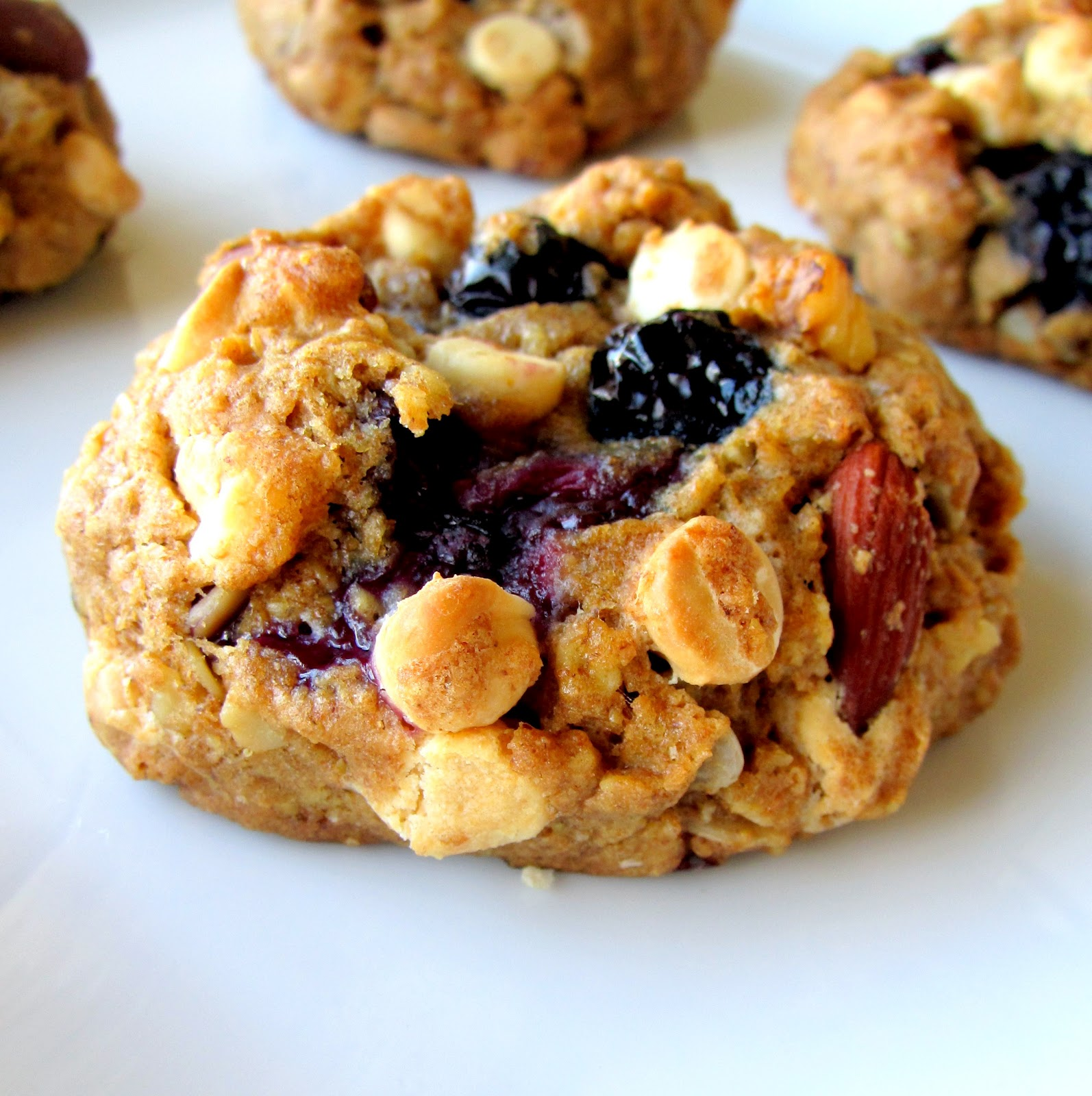 White Chocolate & Blueberry TrailMIX Cookie