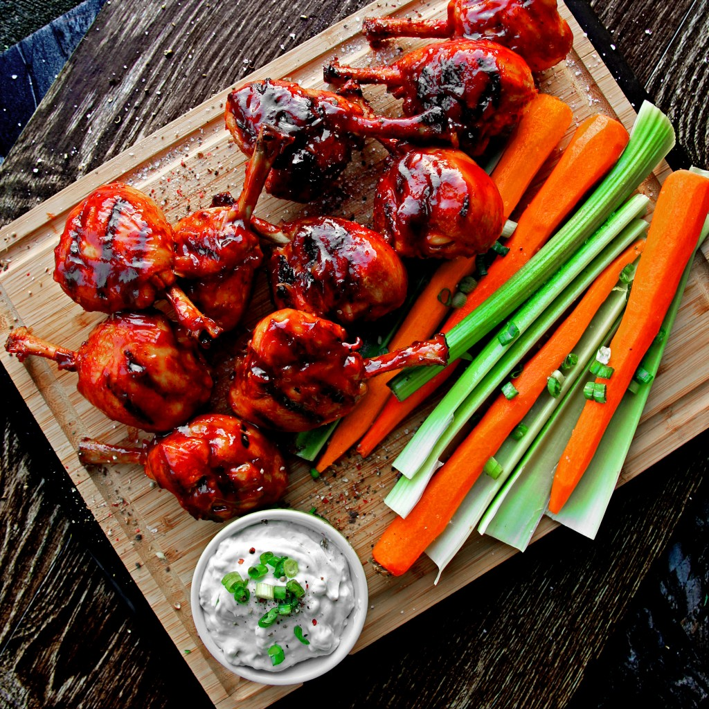 Honey Jalapeno BBQ Chicken Wings