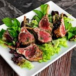 Grilled Rosemary-Mint Lamb Chops