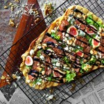 Black Mission & Mignon Grilled Flatbread