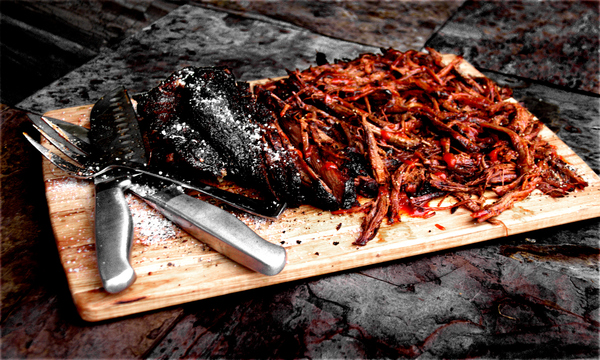 South Texas Smoked and Shredded BBQ Brisket
