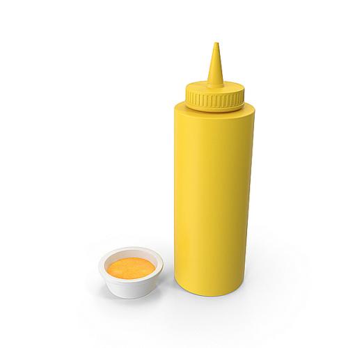 mustard squeeze bottle