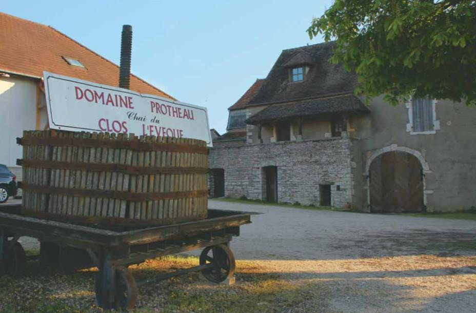 The winery of the former Protheau domain