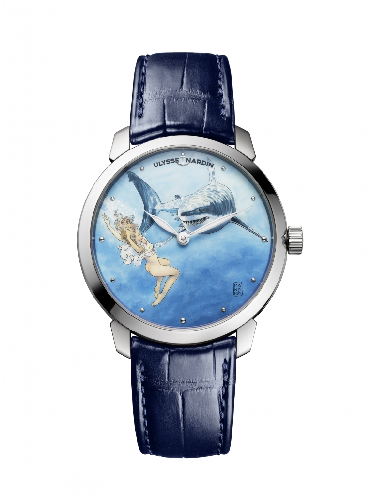 Erotic watch from the Manara My Love collection