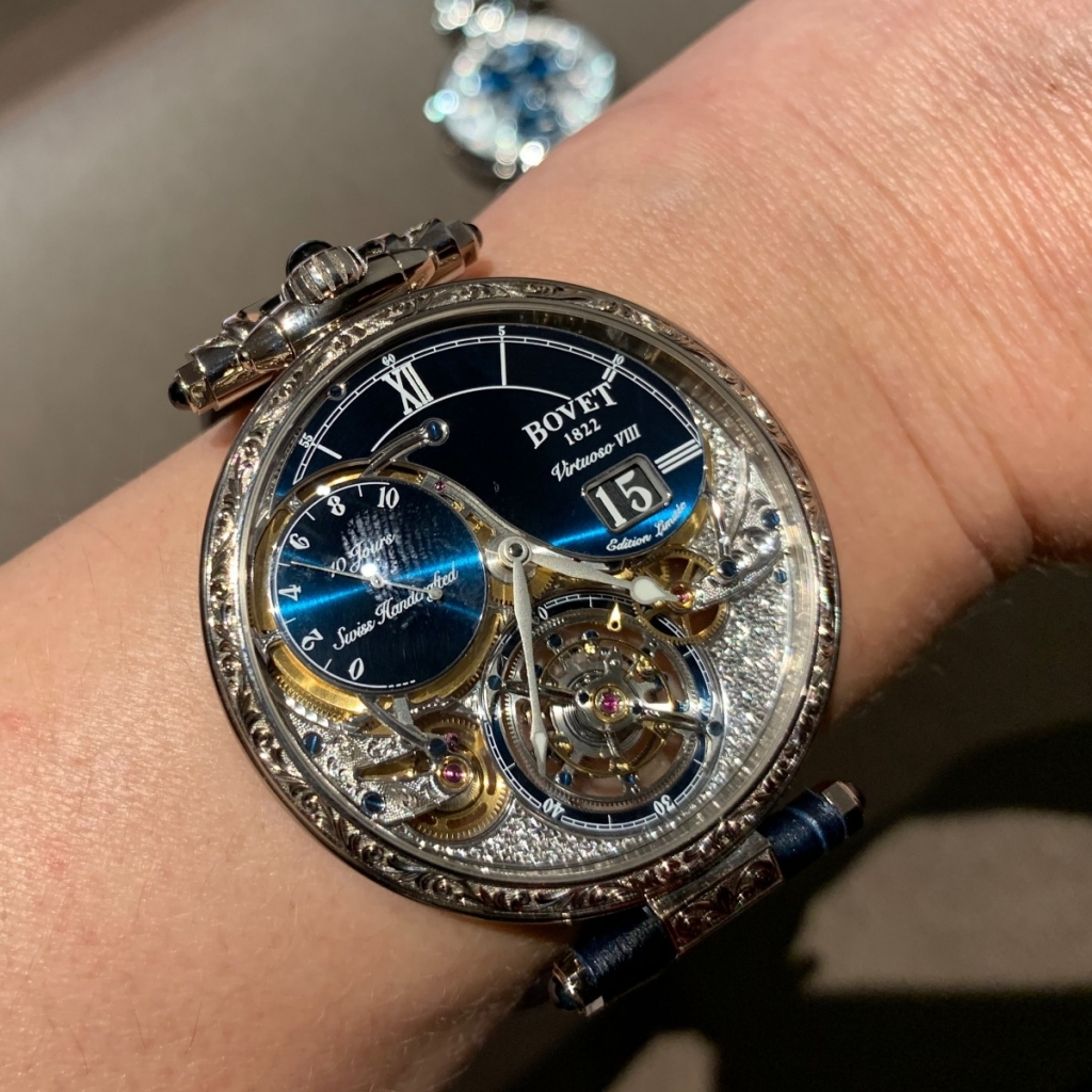 A new Bovet watch