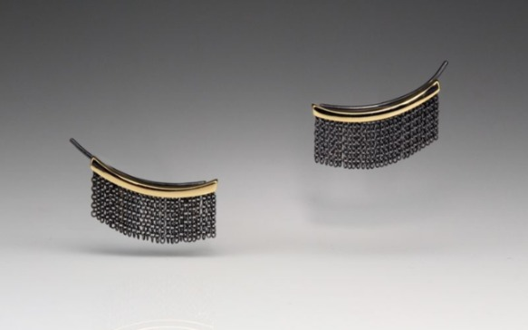 I'm completely obsessed with these new Fringe earrings from Andrea Blais!