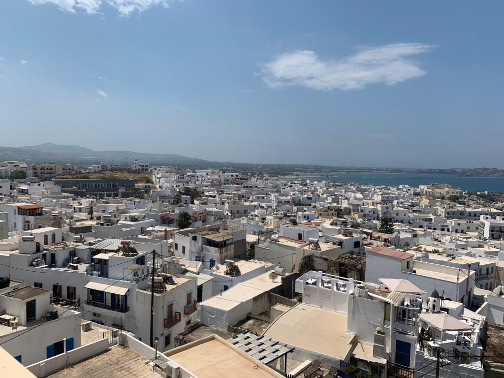 Naxos life as seen from a walking tour.