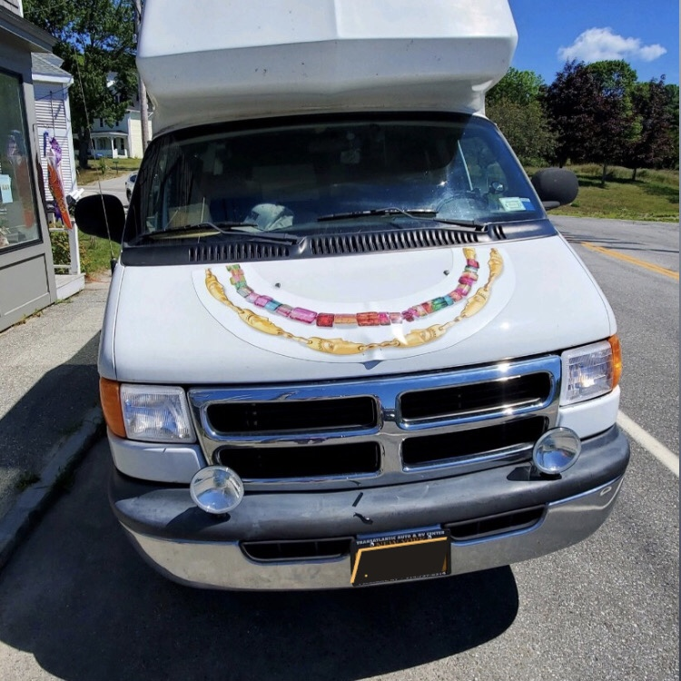 The jewelry van from Alex Sepkus is for pandemic road trip