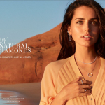 Actress Ana de Armas Is Global Ambassador for Natural Diamond Council in a New Marketing Campaign