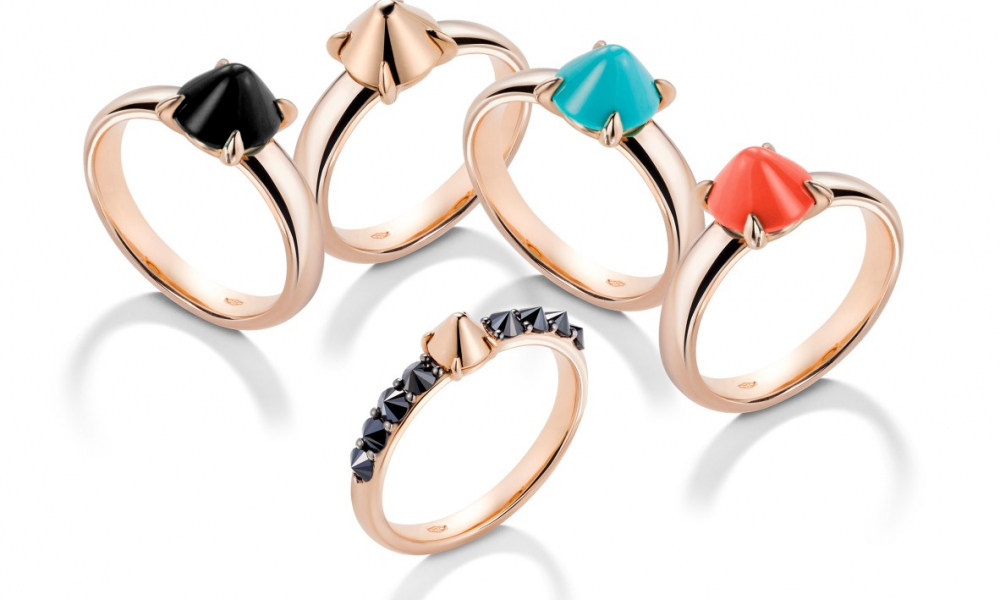 Rings from Mattioli's Ever Jewelry Collection