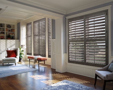 Call Blind Magic for custom wooden shutters in North Highlands, CA
