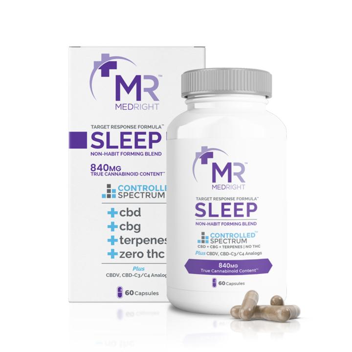 CBD Sleep Capsules Finished Product CBD Global