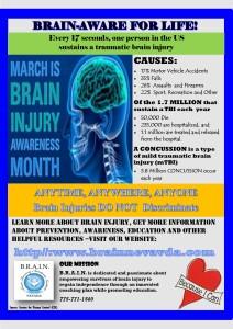 2015 March Brain Injury Month