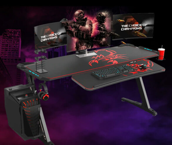 7 Best gaming desks for console and pc gamers