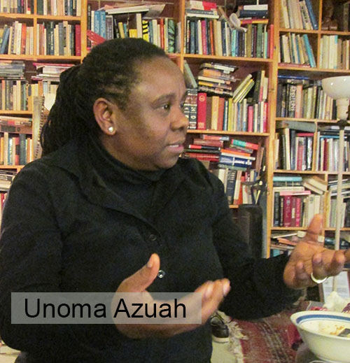 CHICAGO CITY OF REFUGE INITIATIVE — a project of Chicago Network JP — proudly presents Unoma Azuah and her writings as our featured writer in exile for Autumn 2019: