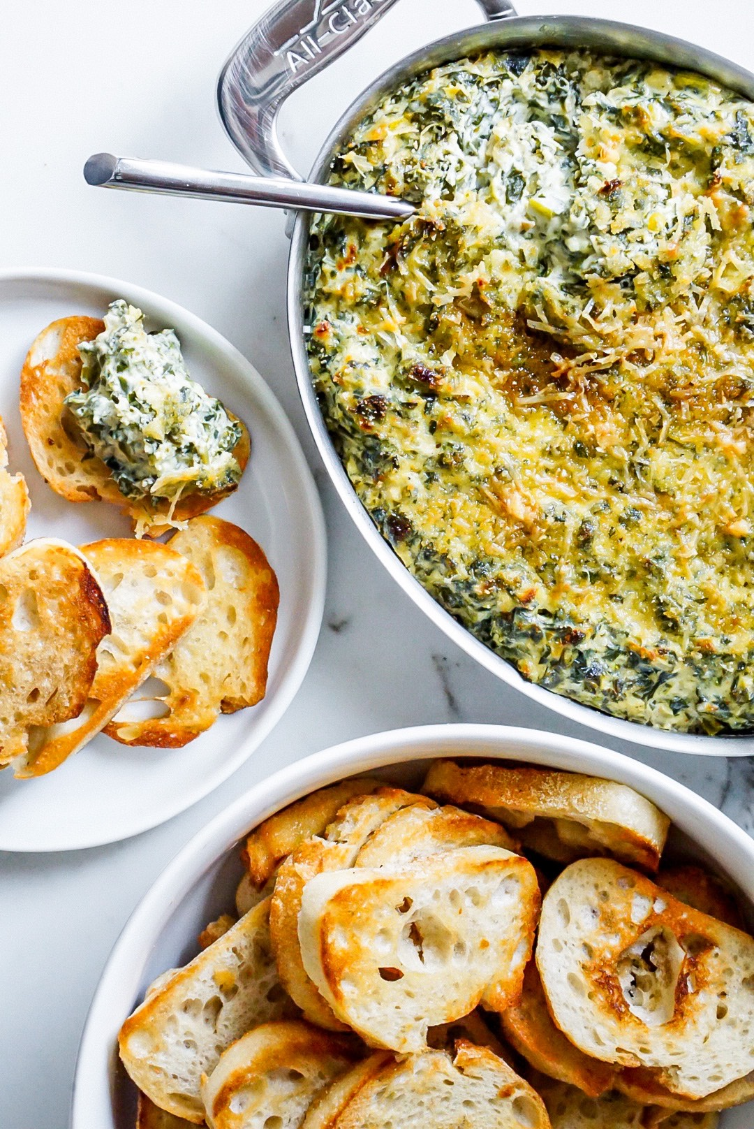spinach and kale dip