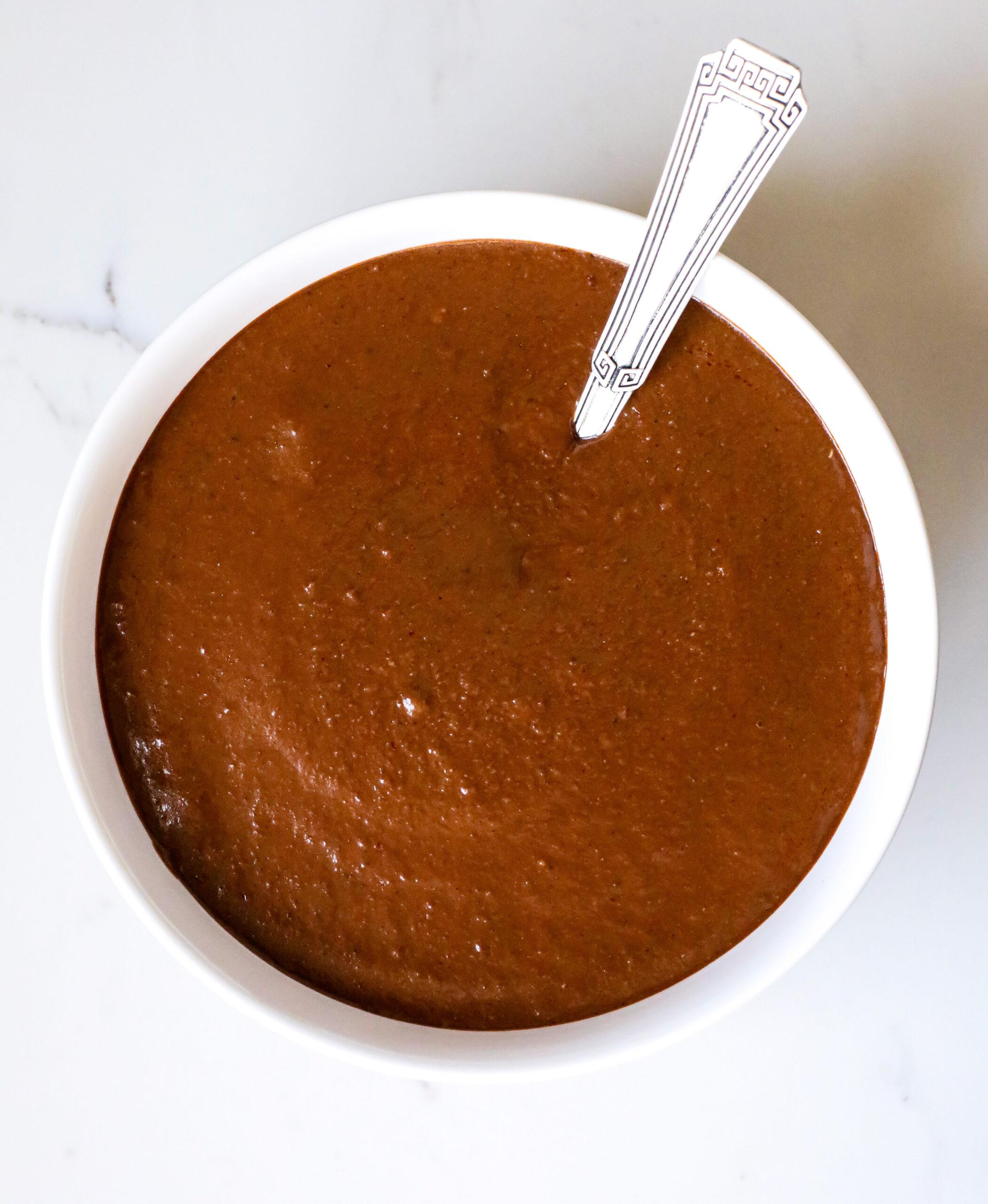 spicy mole sauce