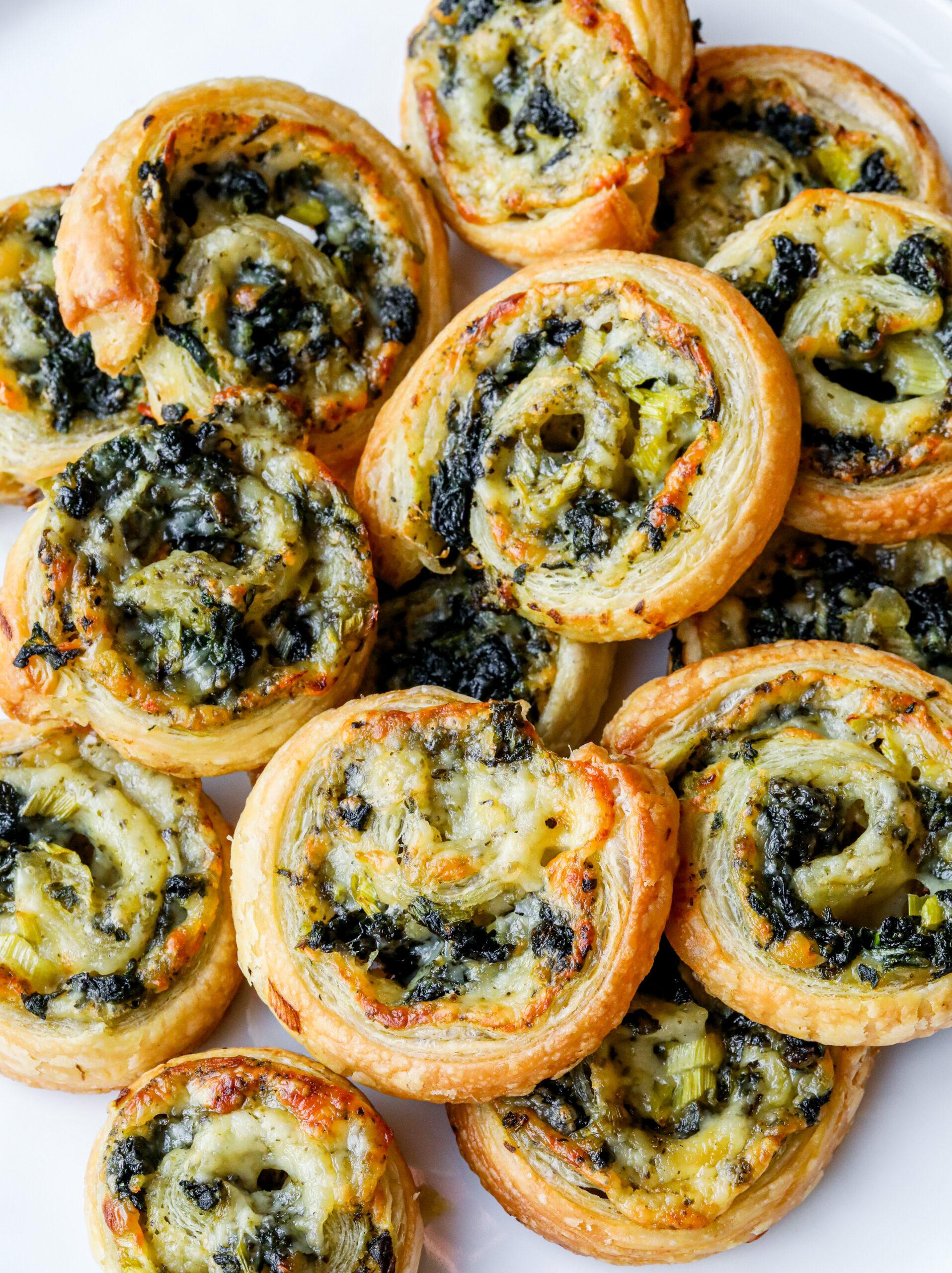 Easy Pesto Pinwheels
