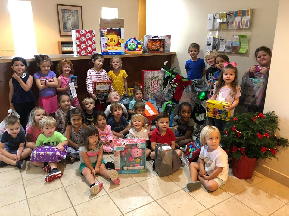 Angel Tree Gift Collection