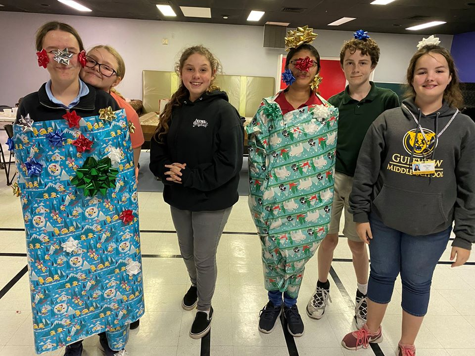 Wesley Youth Christmas Party 12/11