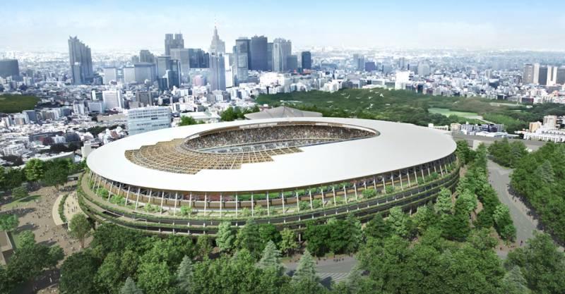 Tokyo 2020 Main Stadium design