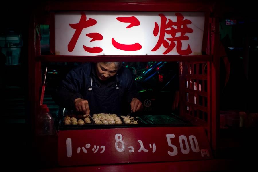 Japan Street Food - Takoyaki