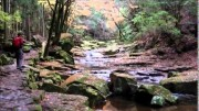 Hiking on Beautiful Valley in Japan's Quasi-National Park