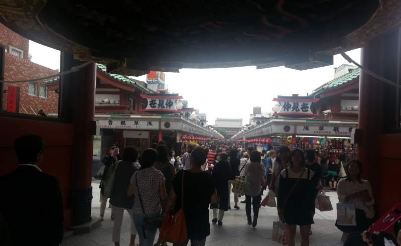 Sensoji shopping street