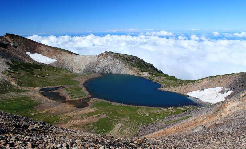 Gongen Pond - Mt. Norikura
