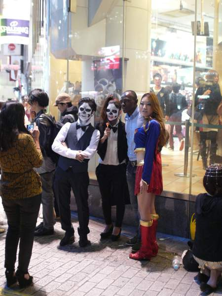 Shibuya Halloween party costumes