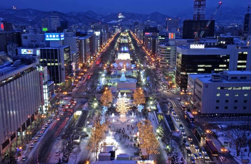 Sapporo Snow Festival event square