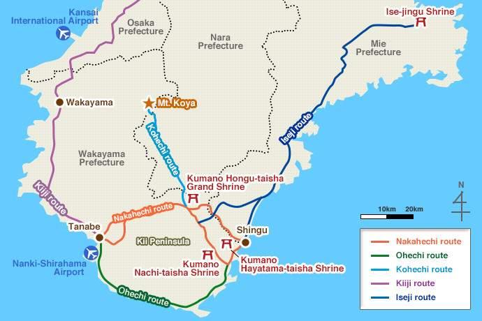 Kumano Kodo route