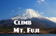 Climb Mt. Fuji  … 2018 Climbing Season July – Sept