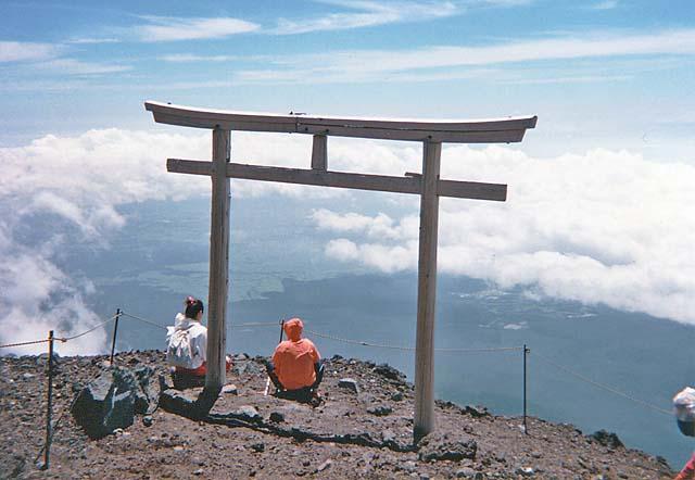 Top of Mt. Fuji Torii