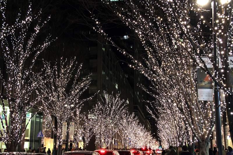 Tokyo Marunouchi Winter Illumination