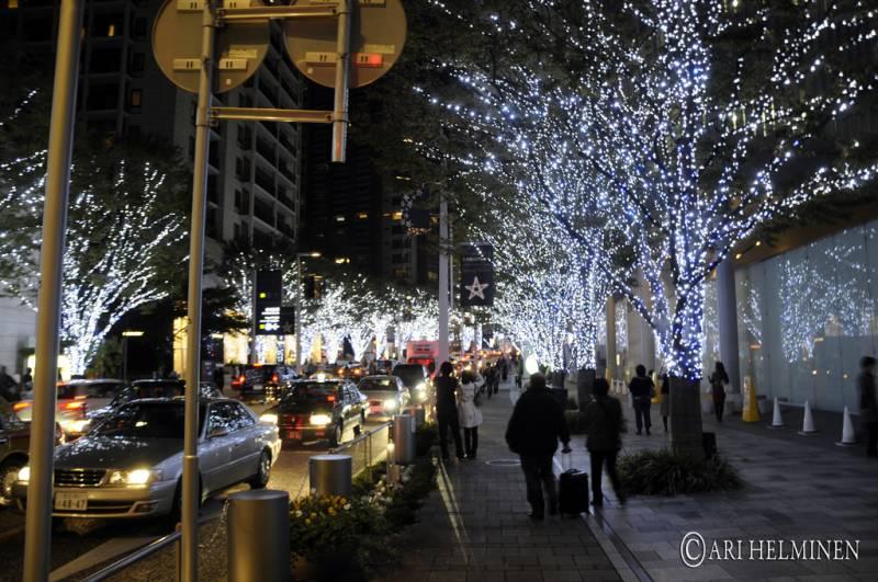 Tokyo Roppongi Hills Winter Lights