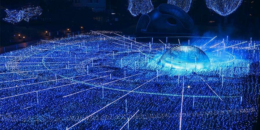 Tokyo Christmas Lights Midtown